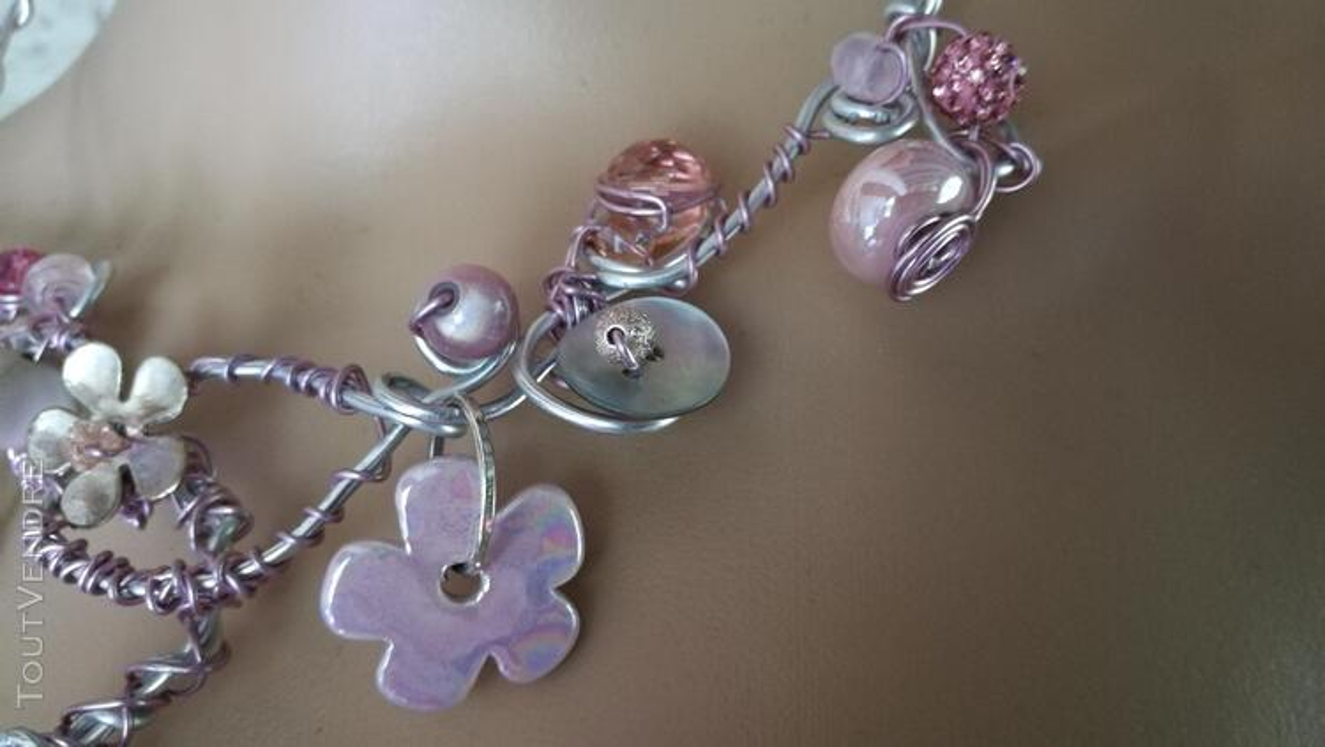 Collier Fantaisie Perles Nacre / Porcelaine / Verre suxn 430805936