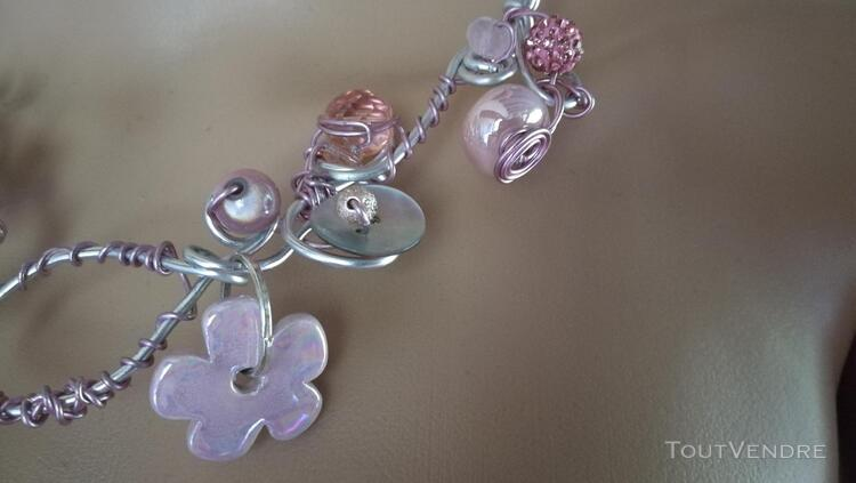 Collier Fantaisie Perles Nacre / Porcelaine / Verre suxn 430815239