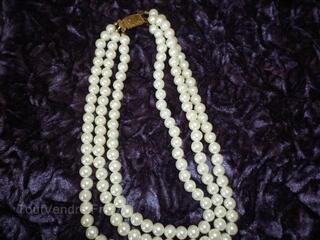 Colliers de perles