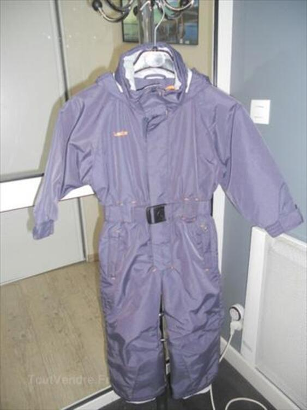 Combinaison de ski enfant 4 ans Décathlon gris violet 55886266