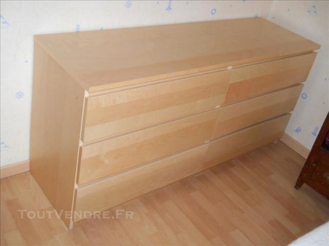 Commode IKEA MALM 6 tiroirs 85881994