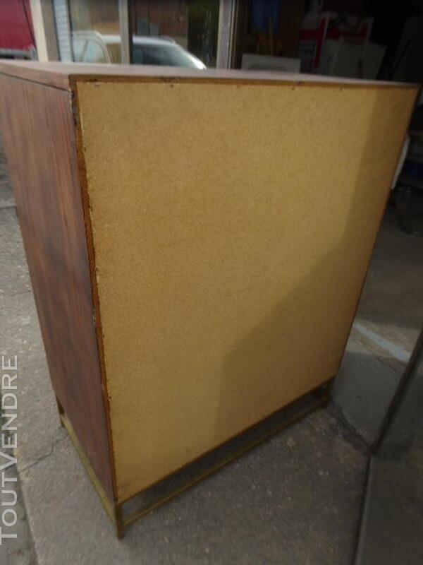 Commode semainier vintage design 70 palissandre 314523265
