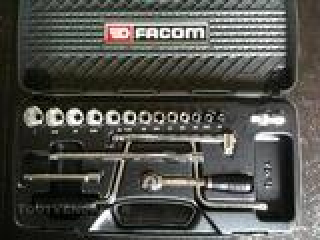 """Composition FACOM PL.12A 12 pans en pouces de 1/4 à 1"""""""