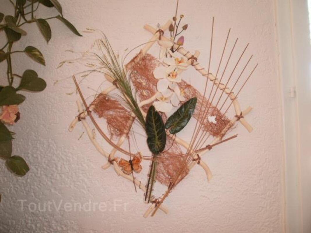 Composition florale murale 50980433
