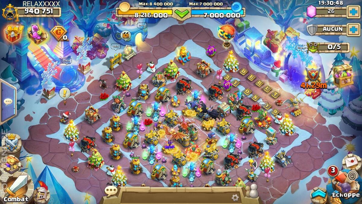 Compte Castle Clash ANDROID 940k de puissance 632540072