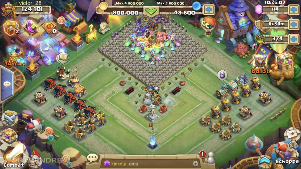 Compte castle clash 625029500