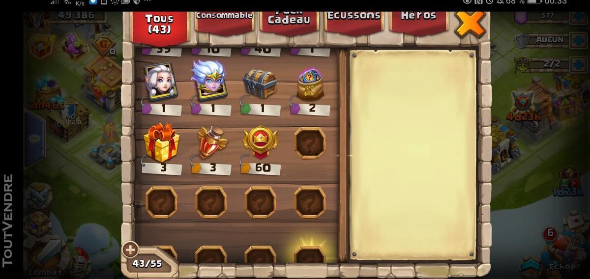 Compte castle clash 631395161