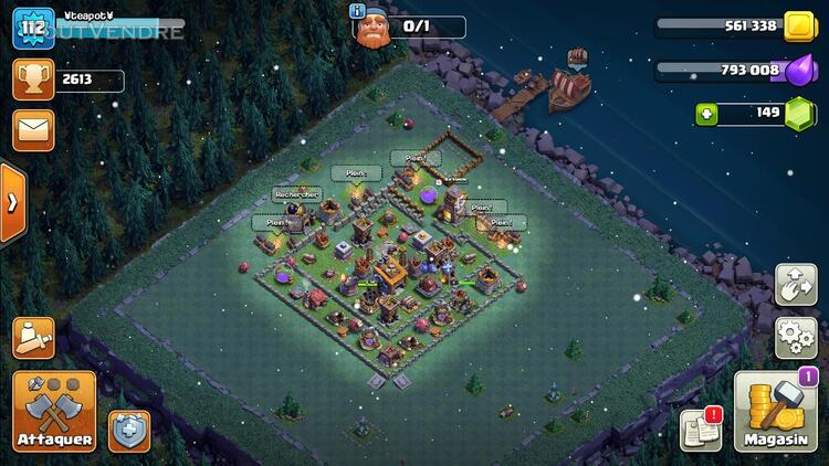 COMPTE CLASH OF CLAN TH10 628522339