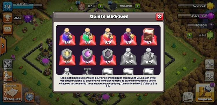 Compte clash of clan 710323974