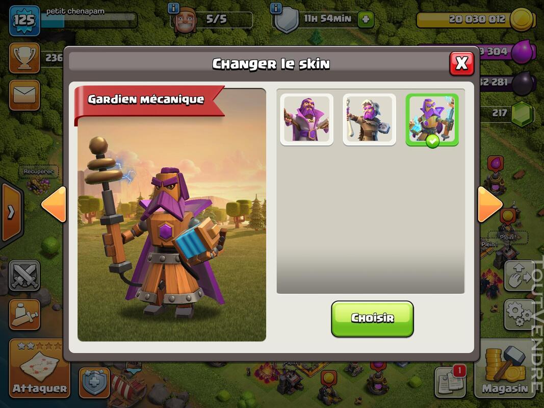 Compte Clash of clans hdv 11 non prema Rename gratuit 660829912