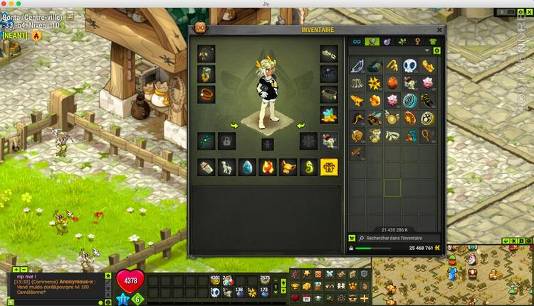 Compte Dofus Huppermage 200 Opti Perfidoclier 189433375