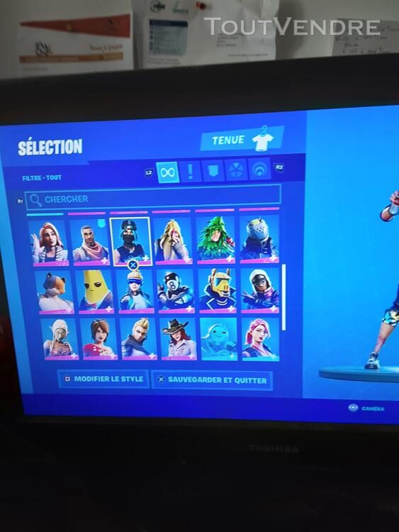 Compte fortnite ps4 et switch 652696708