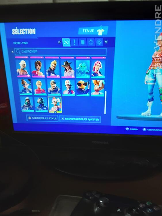 Compte fortnite ps4 et switch 652696711