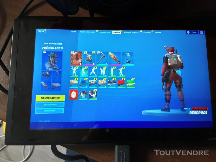 Compte fortnite ps4 et switch 652696729
