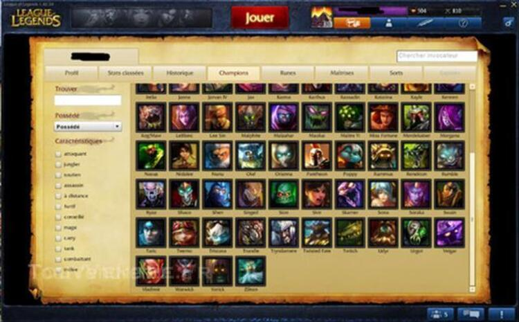 Compte League of Legend LV 30. 46712193