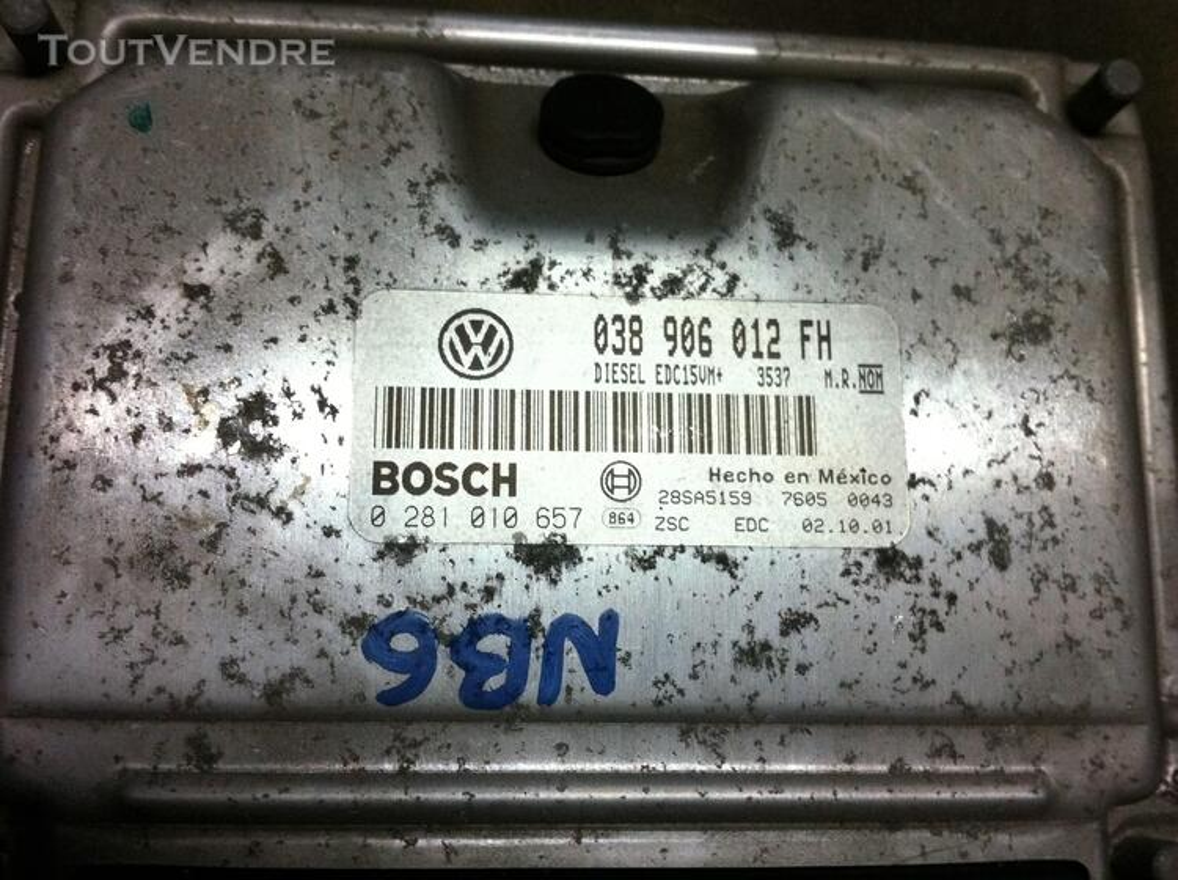 Compteur + neiman + boitier VW New BeetleTdi 90 152913719