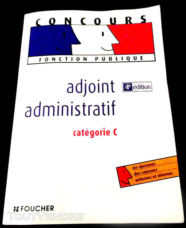 CONCOURS  ADJOINT  ADMINISTRATIF 204653982