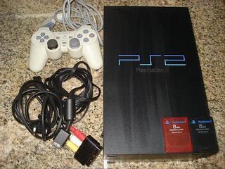 Console de jeux SONY PS2 + jeux