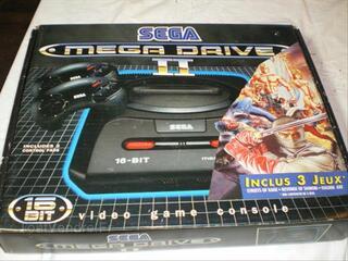 Console sega megadrive avec boite + collector + 6 jeux