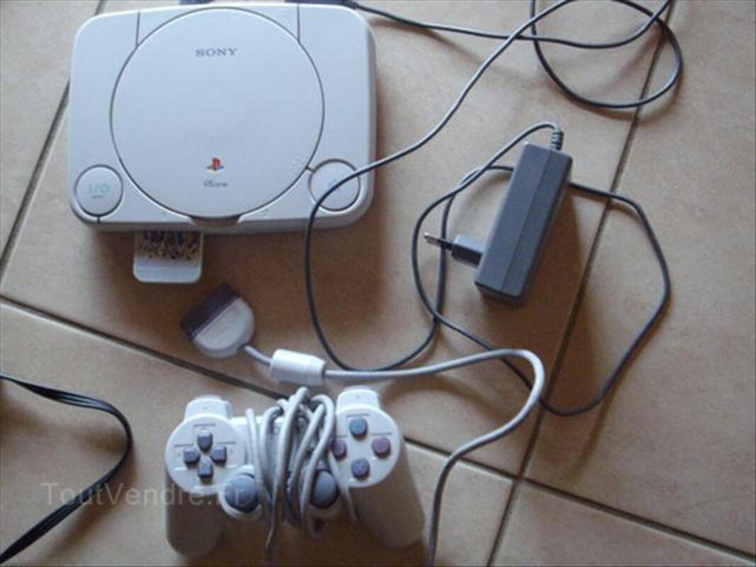 Console SONY playstation 1  et 2 jeux 56203524