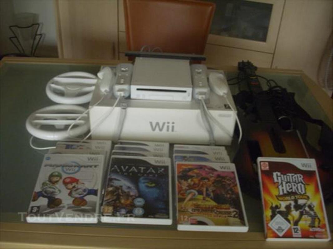 Console WII 2009 d'origine + Accessoires et jeux 83092481