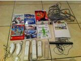 Console Wii + balance board + 7 jeux