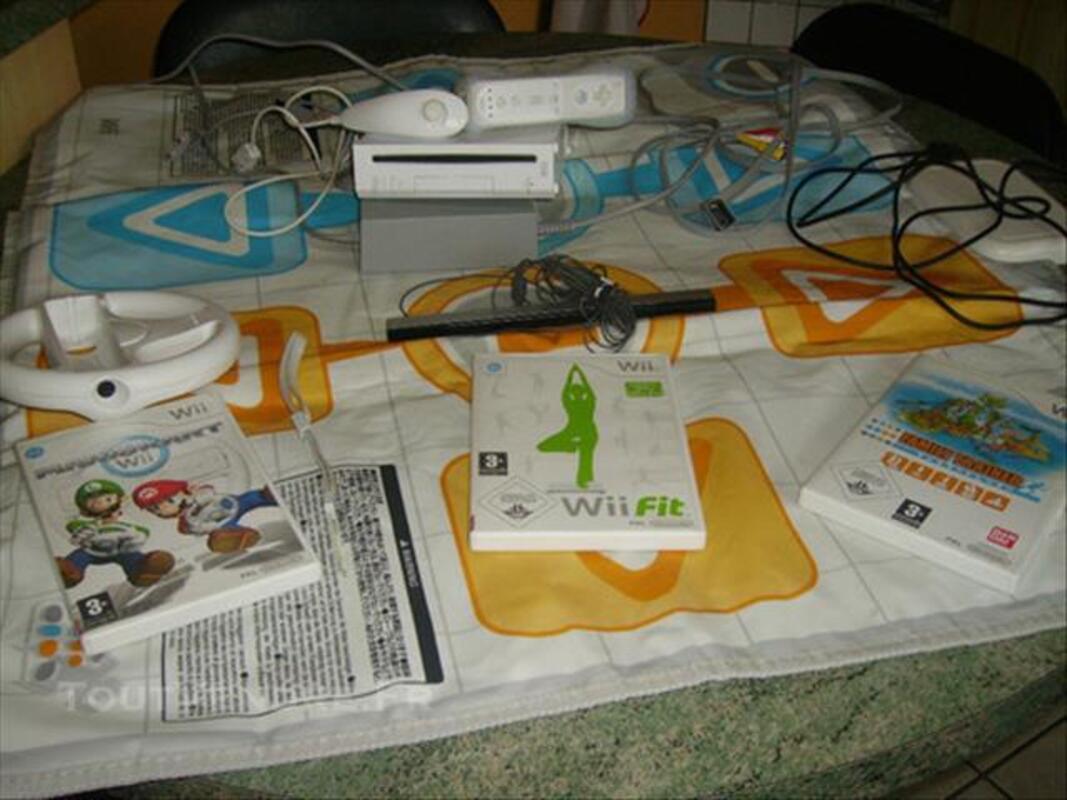 Console WII blanche et jeux 85243812