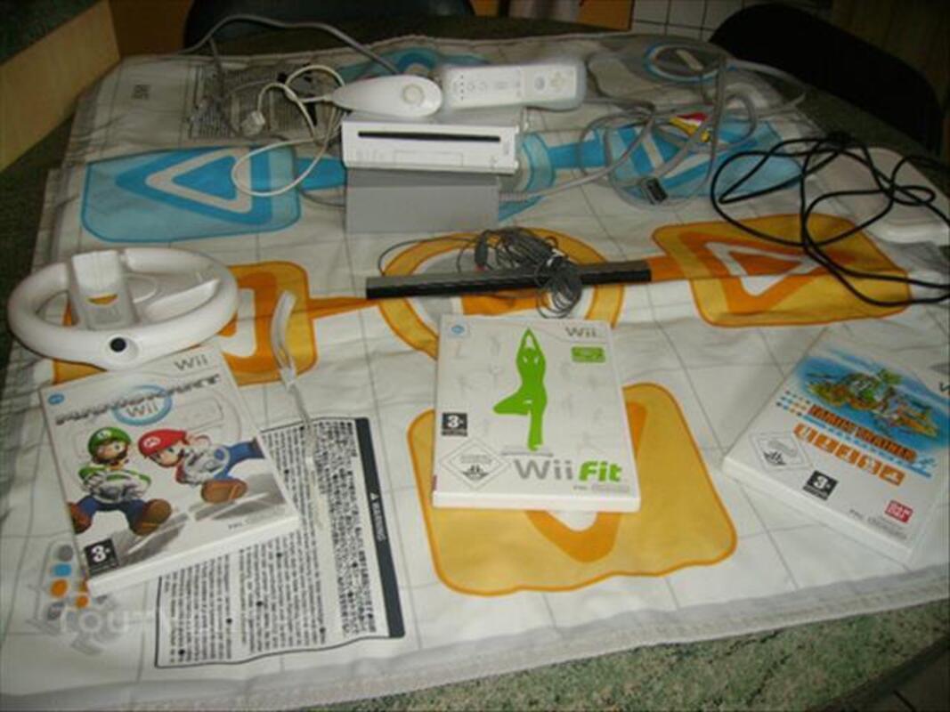 Console WII blanche et jeux 85243813