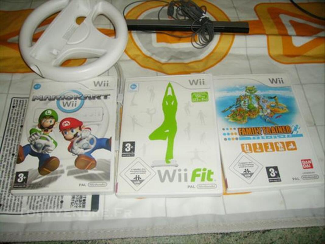 Console WII blanche et jeux 85243814