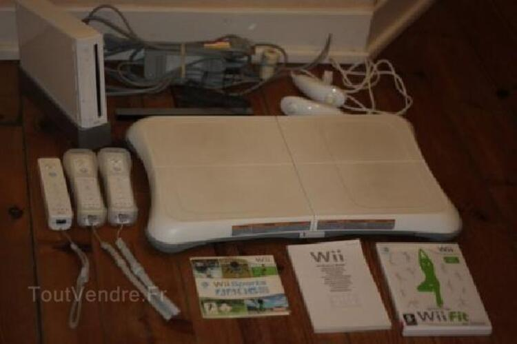 Console wii + board et 4 manettes 95924508