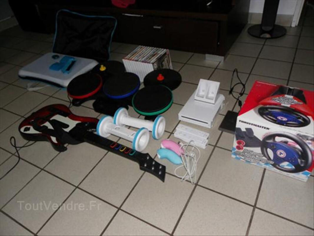 Console Wii + jeux+ accessoires 64640165