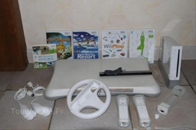 Console WII + WII Fit + accessoires + jeux 56488502