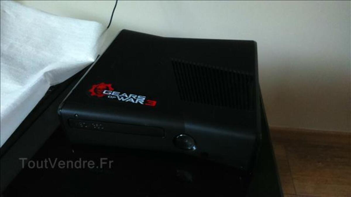 Console Xbox 360 slim 4Go + jeux & accessoires 103368399