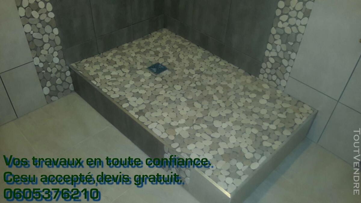 Construction/Rénovation salle de bain, cuisine. Cesu accepté 125305604
