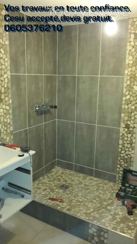 Construction/Rénovation salle de bain, cuisine. Cesu accepté 125305606