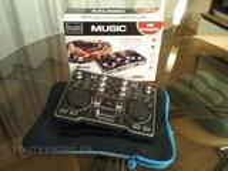 Contrôleur de mixage DJ portable marque HERCULES