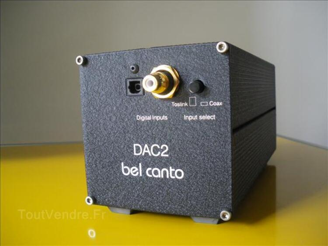 Convertisseur audio hifi bel canto dac 2 99935086