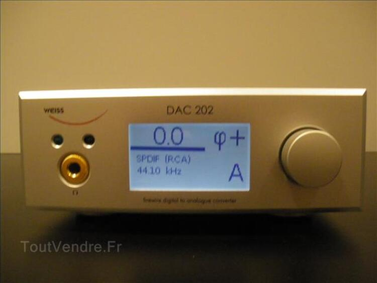 Convertisseur audio hifi Weiss dac 202 99935795