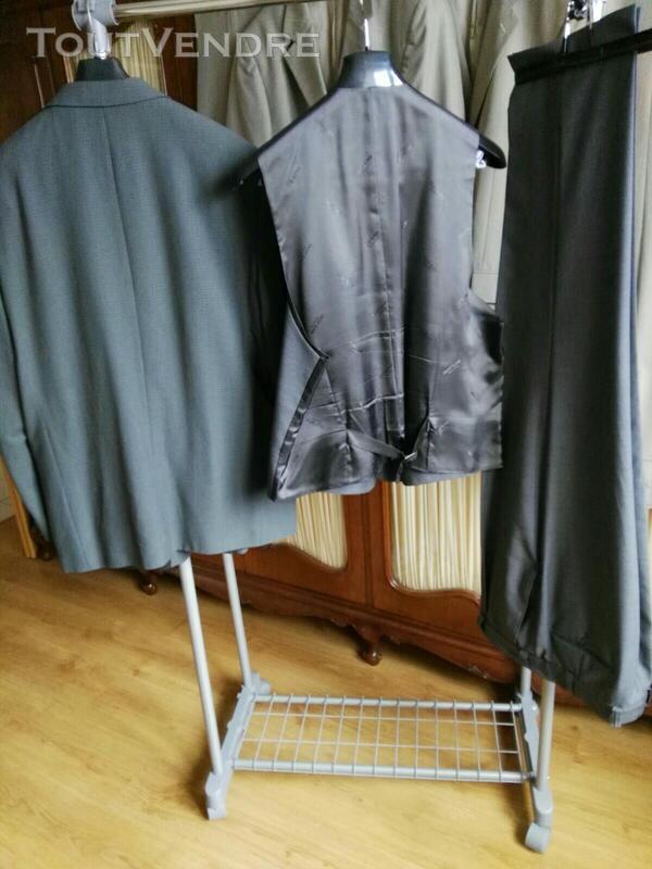 Costume 3 pièces gris Oly Gan 558496440