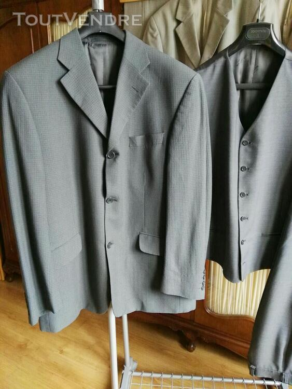 Costume 3 pièces gris Oly Gan 558496446