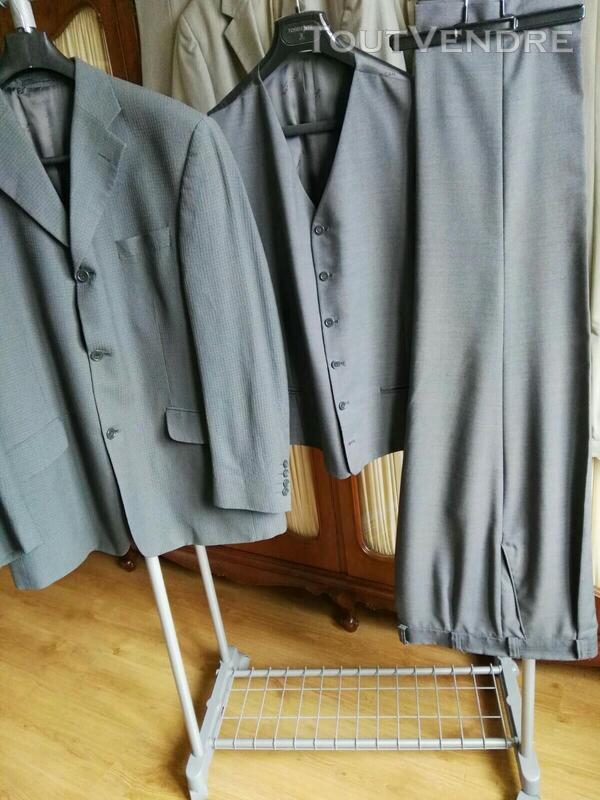 Costume 3 pièces gris Oly Gan 558496449