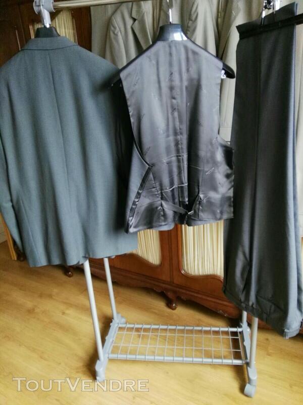 Costume 3 pièces gris Oly Gan 558496452
