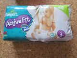 Couches Pampers active fit. taille 3
