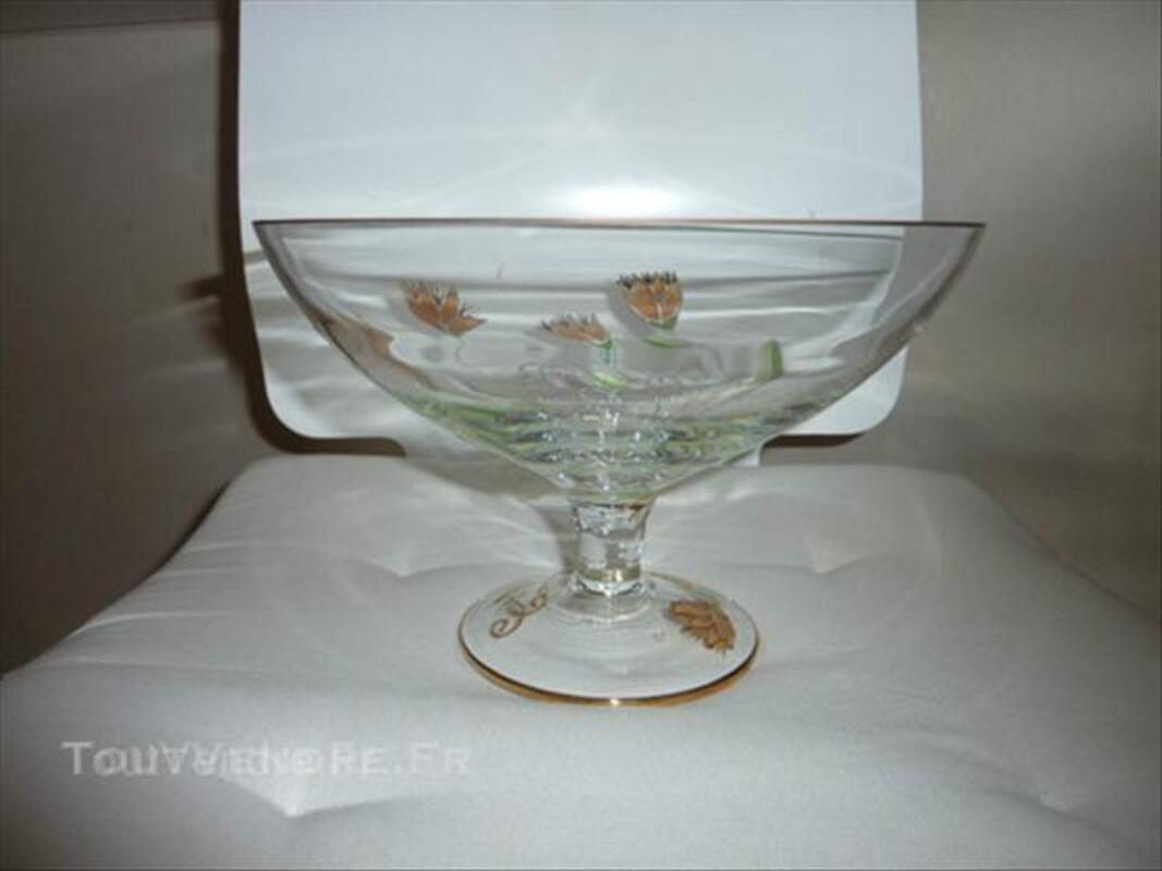 Coupe à fruits Cristal de Paris neuves dans sa boite 45846502