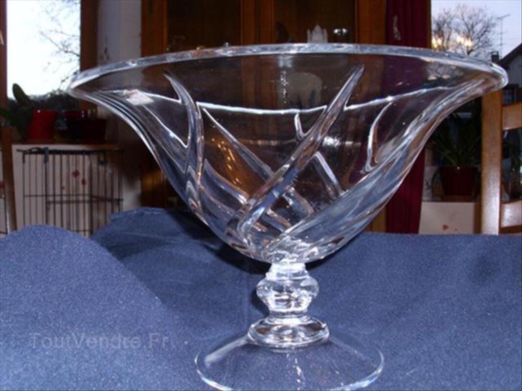 Coupe à fruits en Cristal D'arques Neuve 56334647