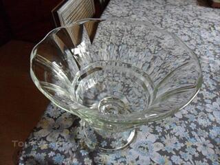 Coupe à fruits en cristal
