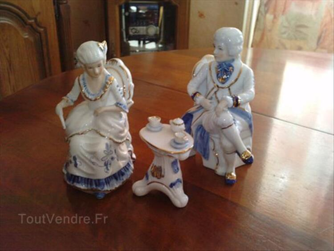Couple marquis porcelaine décoration 71312187