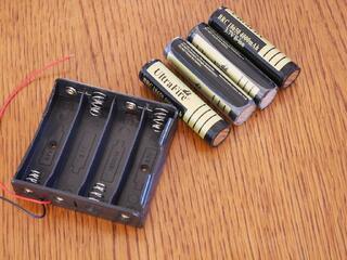 Coupleur pour batterie 18650