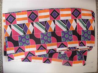 Coupon Tissu pour Parapluie  Design Mode  Couture