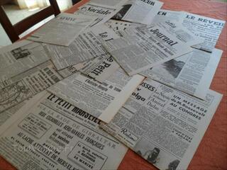 Coupures journaux(14/18&39/45)